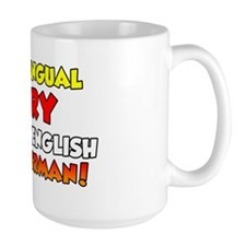 Bilingual German Baby Shirt Mug