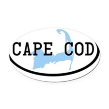 cape-cod-oval Oval Car Magnet