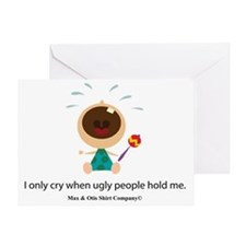 ugly-people Greeting Card