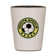 soccersouthafricaround Shot Glass