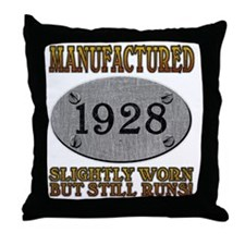 1928 Throw Pillow