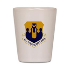 43rd Bomb Wing Shot Glass