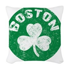 Boston Woven Throw Pillow
