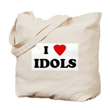 I Love IDOLS Tote Bag