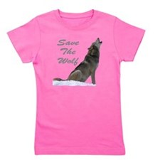 save the wolf Girl's Tee