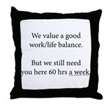 Ofccp Throw Pillow
