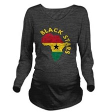 african soccer desig Long Sleeve Maternity T-Shirt
