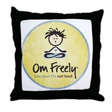 new-vintage-sam Throw Pillow
