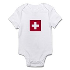 Swiss Flag - Switzerland Infant Bodysuit