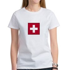 Swiss Flag - Switzerland Tee