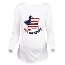 4thjuly3 Long Sleeve Maternity T-Shirt