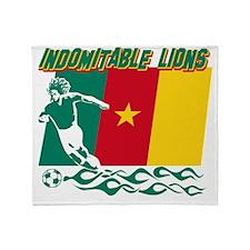 african soccer designs Throw Blanket