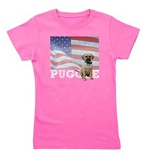 FIN-puggle-patriotic2-WonB Girl's Tee