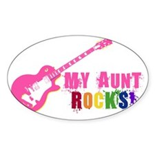 Pink Guitar_Aunt Decal