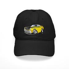 1970-74 Duster 340 Yellow-Black Top Car Baseball Hat