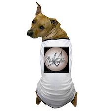 TOAM Circular Logo (black background) Dog T-Shirt