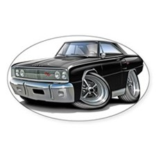 1967 Coronet RT Black Car Decal