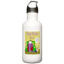 cafe press card templa Water Bottle