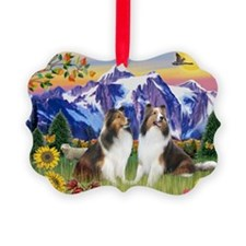 MP-Mt Country - 2 Shelties Ornament