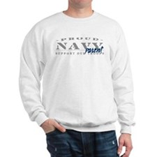 Proud Navy Parent (blue) Sweatshirt