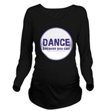 Dance_circle Long Sleeve Maternity T-Shirt