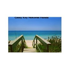 Casey Key11.5x9 Rectangle Magnet