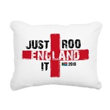 England Shirt Just Roo I Rectangular Canvas Pillow