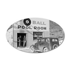 The Eight Ball Pool Room Wall Decal
