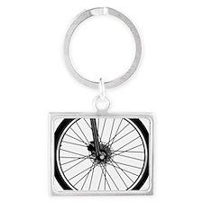 bikewheel Landscape Keychain