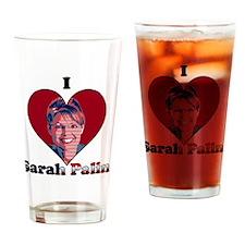 i heart sp Drinking Glass