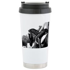 jaydenbodyshot1bwcopyrighted Ceramic Travel Mug