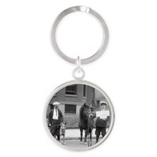 Be Kind to Animals Week Round Keychain