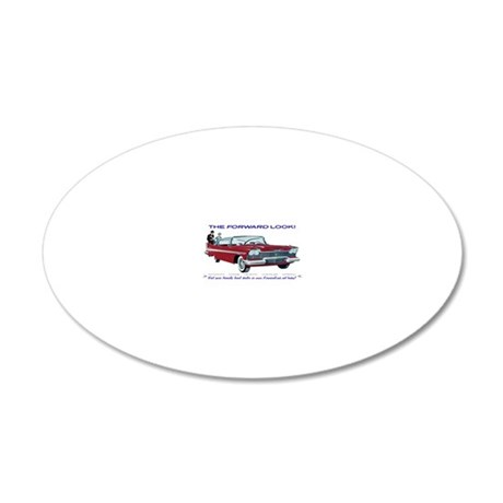 BB12A (Custom) 20x12 Oval Wall Decal
