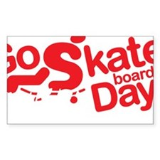 go skateboarding every day pen Decal