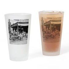 New Orleans French Market Drinking Glass