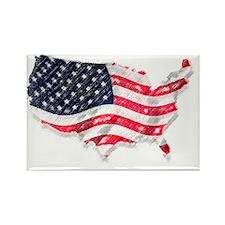 flag only Rectangle Magnet