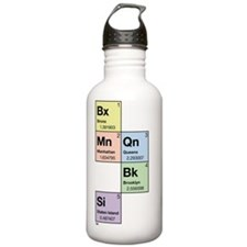 3-periodictable_nyc5bo Water Bottle