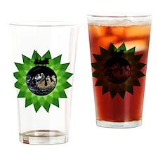 EarthOilBPShirt Drinking Glass