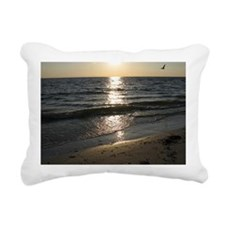 Bonita Springs FL Sunset Rectangular Canvas Pillow