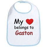 My heart belongs to gaston Bib