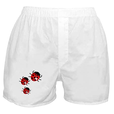 Lady Bugs Boxer Shorts