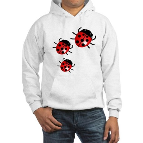 Lady Bugs Hooded Sweatshirt