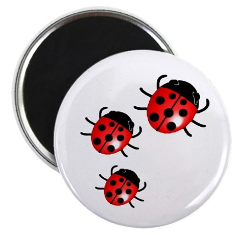"Lady Bugs 2.25"" Magnet (10 pack)"