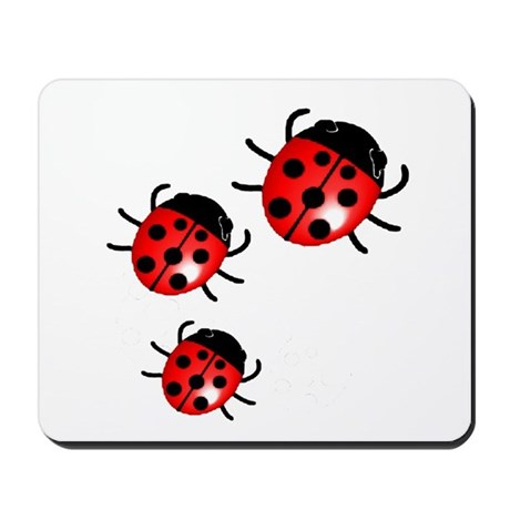 Lady Bugs Mousepad