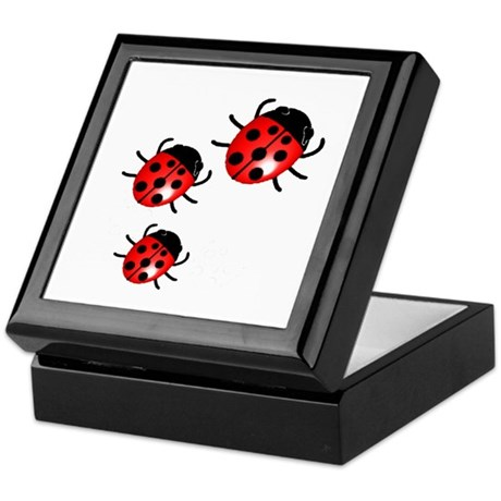 Lady Bugs Keepsake Box
