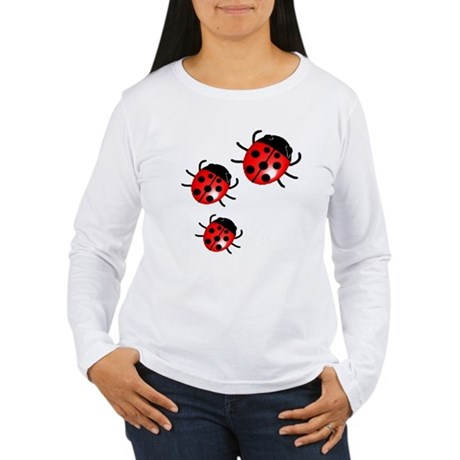 Lady Bugs Women's Long Sleeve T-Shirt