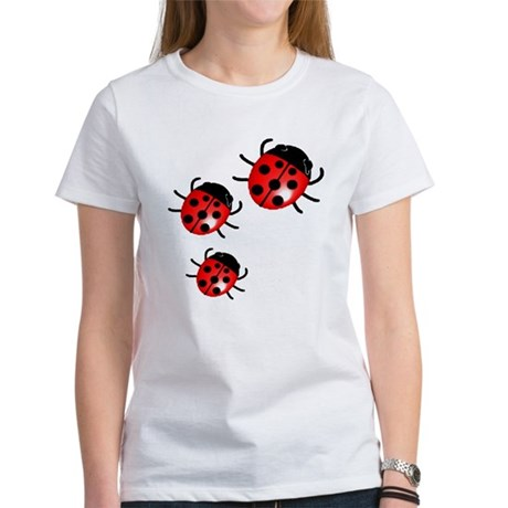 Lady Bugs Women's T-Shirt