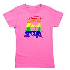 gaypridejesus Girl's Tee