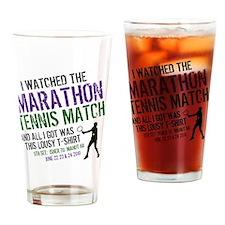 Epic Tennis Drinking Glass