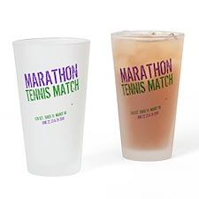 Epic Tennis dk Drinking Glass